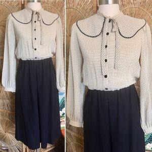 VTG 60s Leslie Fay Original Dress
